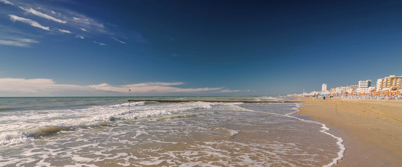 Spiaggia di Jesolo.