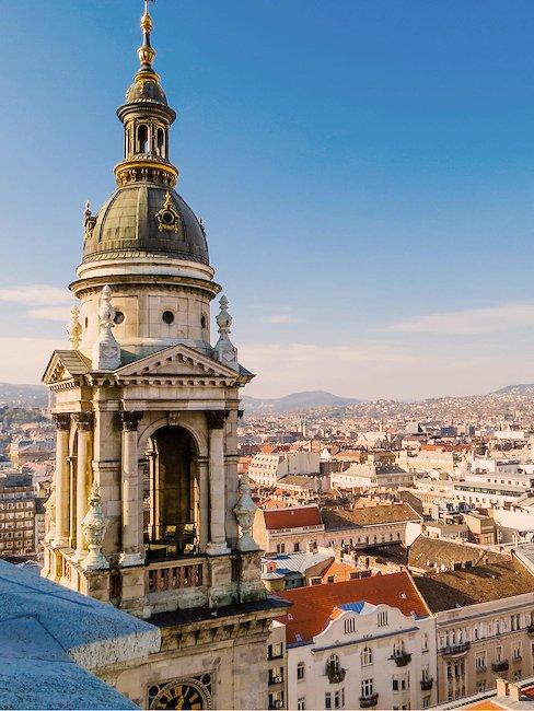 Die St. Stephans Basilika in Budapest