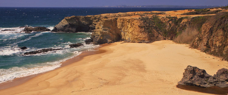 Praia Paradisíaca na Costa Alentejana