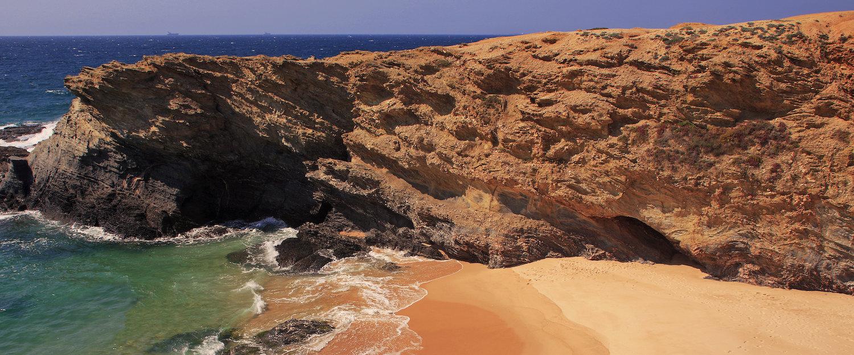 Praia na Costa Alentejana