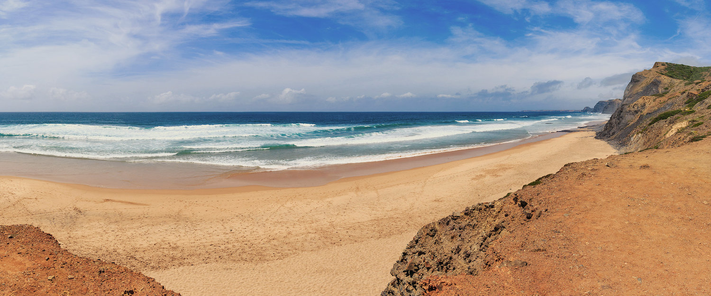 Praia na Costa Vicentina