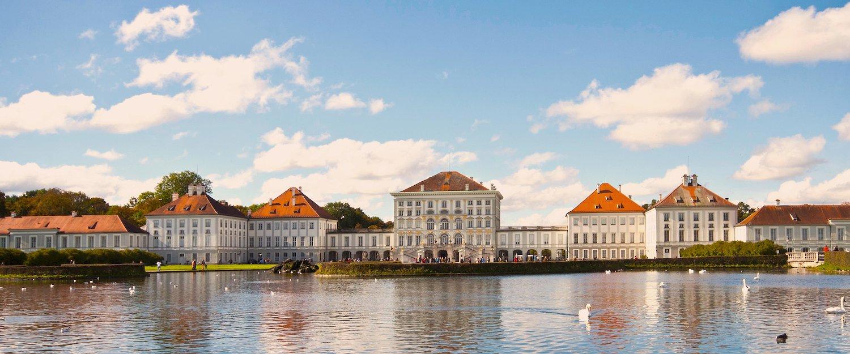 Besuchen Sie das Schloss Nymphenburg im Westen Münchens