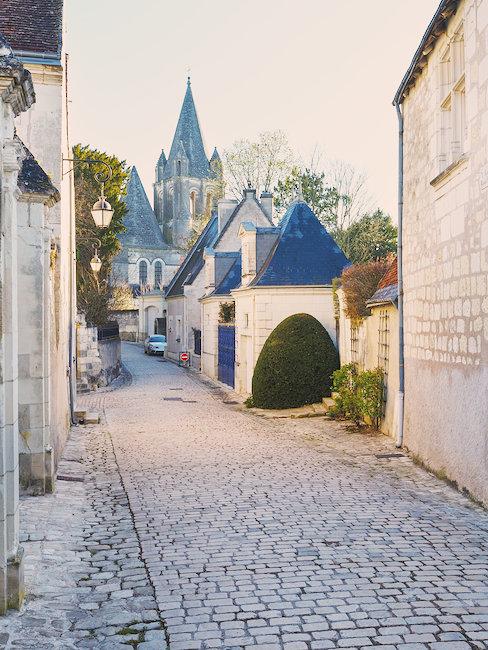 Rue d'un village en Indre et Loire