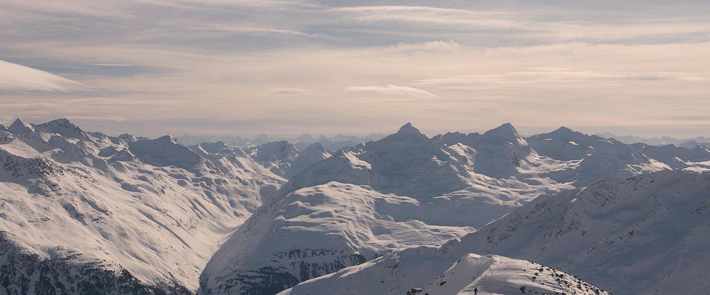 Beeindruckendes Alpenpanorama