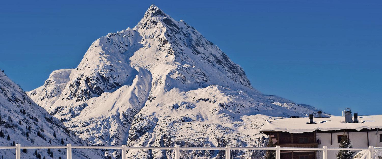 Bayerische Alpen in der Nähe von Galtür