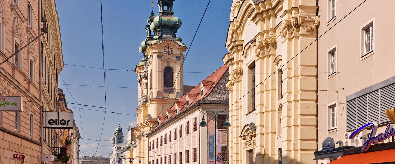 Ursulinen Kirche im Herz der Stadt