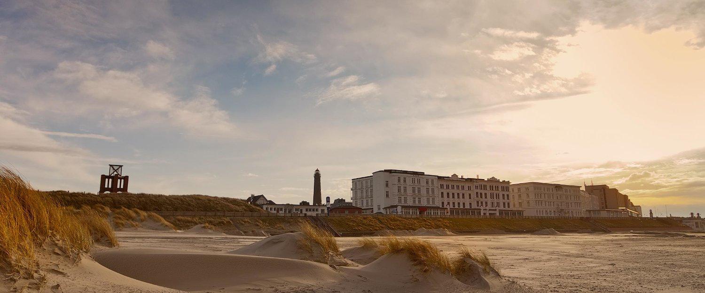 Strand und Promenade