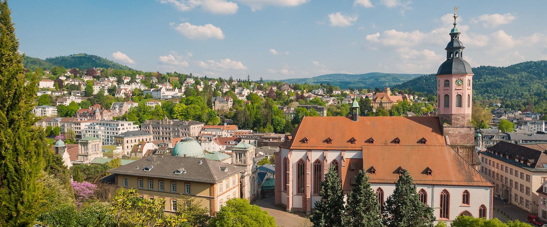 Blick über Baden-Baden