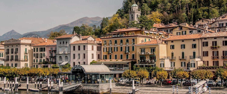 Genießen Sie oberitalienisches Flair in der Stadt Bellagio am Comer See
