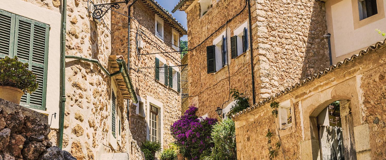 Typiske hus på Mallorca