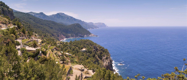 Vista da Costa de Maiorca