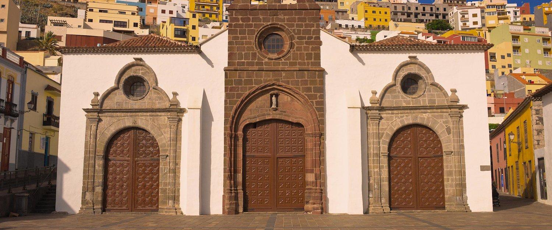 Iglesia en San Sebastian de La Gomera