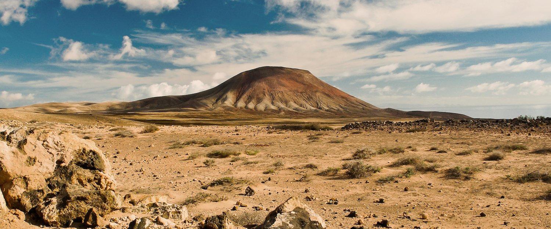 Jeden z krajobrazów Fuerteventury