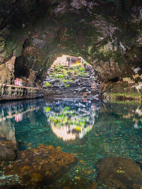 Die Höhle in Jameos del Agua