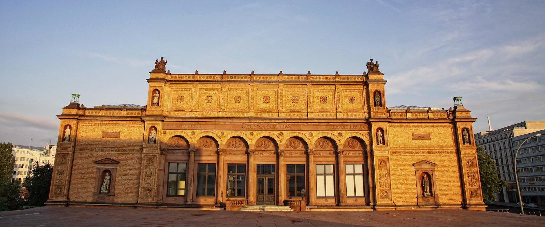 Die Kunsthalle beherbergt die verschiedensten Ausstellungen