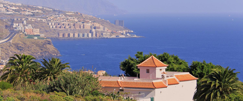 Vista de la costa de Güímar