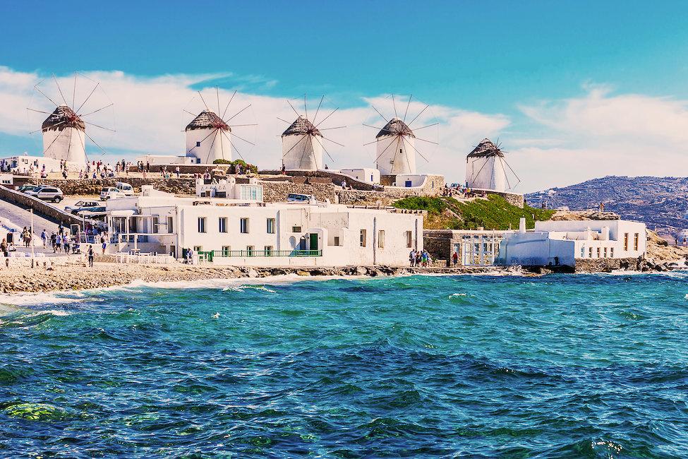 Aluguel de Casas e Apartamentos de temporada em Mykonos