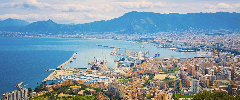 Ein Blick über Palermo