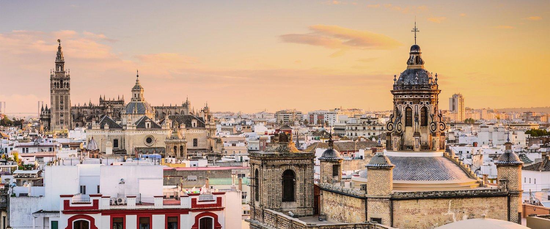 Die Altstadt in Sevilla von oben