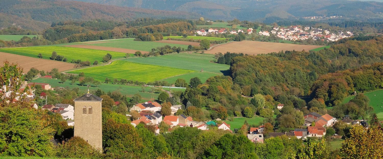 Traumhafte Landschaft im Saarland