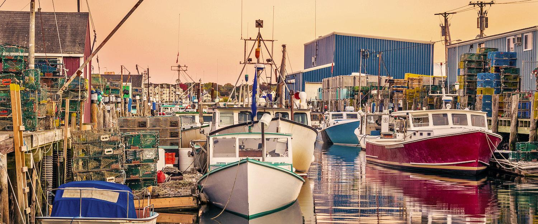 Fishing Dock in Maine