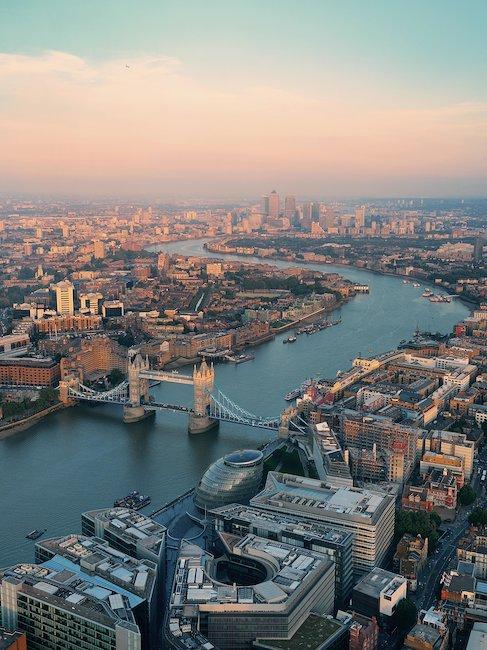 Weltberühmte Tower-Bridge