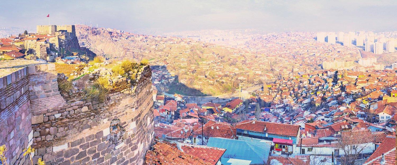 Las vistas de Ankara