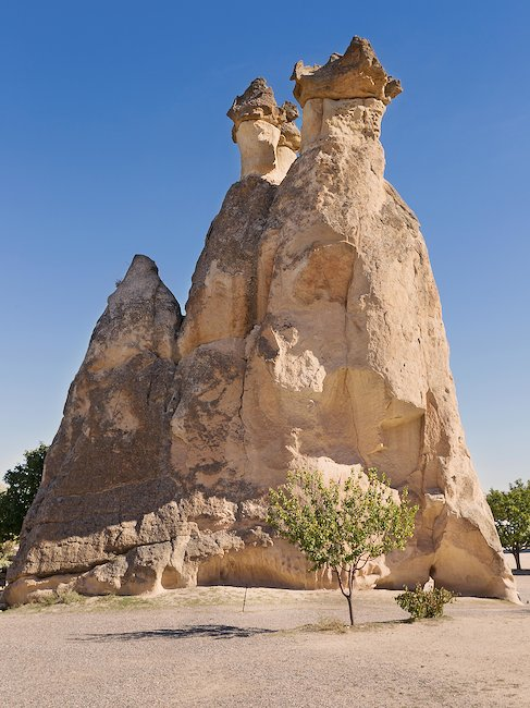 Discover the Fairy Chimneys rock formation in Cappadocia