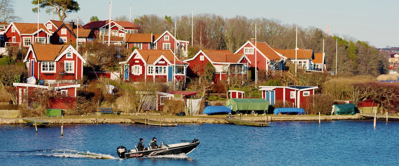 Vinter i Karlskronas skärgård