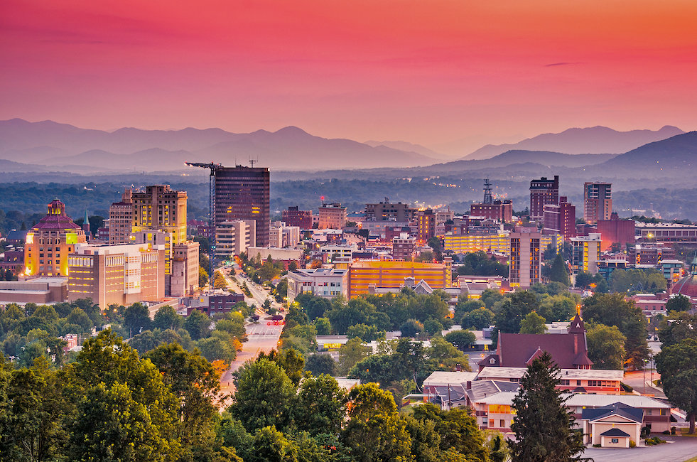 Holiday rentals and lettings in Asheville