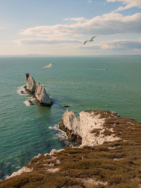 The world-famous Needle Rocks.