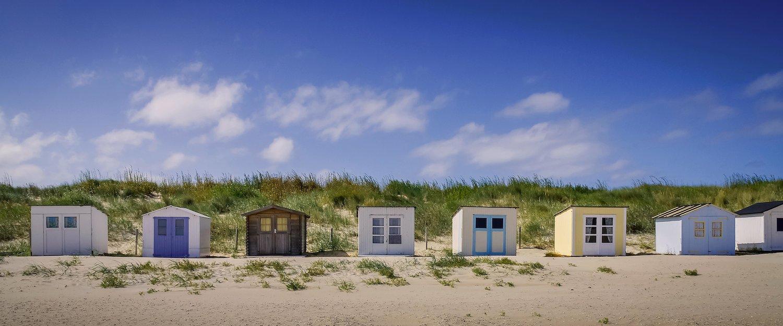 Der Strand von Texel lädt zum Verweilen ein