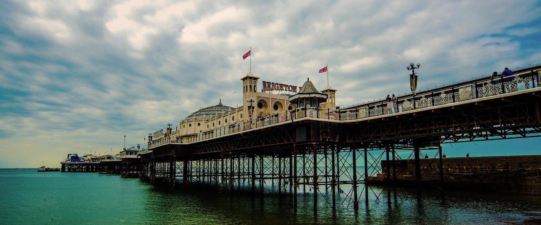 Palace Pier in Brighton