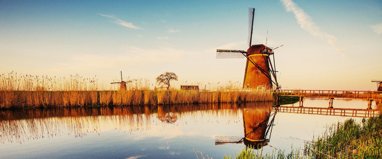 Windmühlen bei Rotterdam.