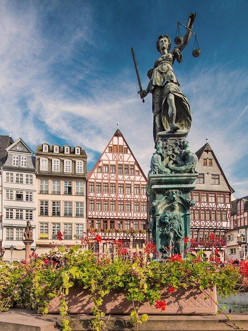Die Altstadt von Frankfurt