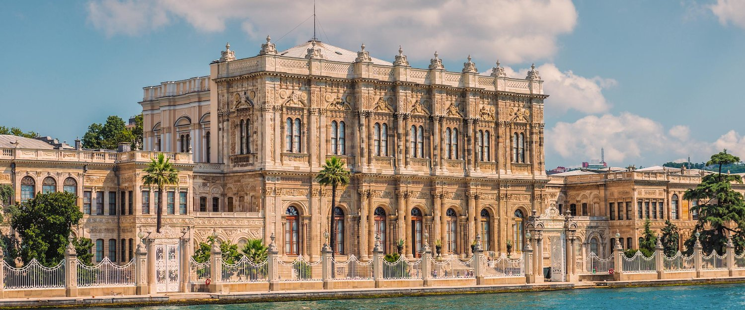 Der Dolmabahce Palast in Istanbul