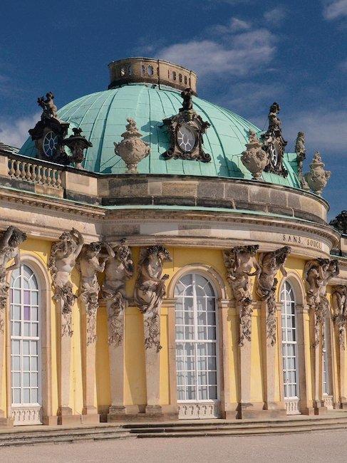 Das Schloss Sanssouci
