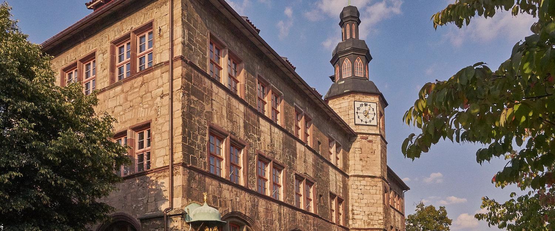 Das alte Rathaus in Nordhausen