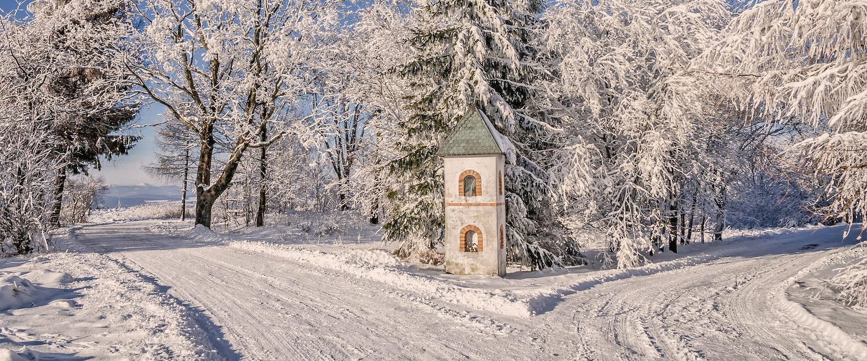 Okolice Polanicy Zdrój są piekne także zimą