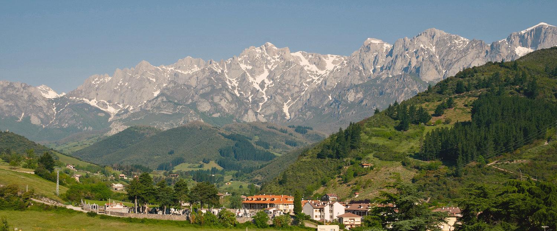 La impresionante visión de los Picos de Europa