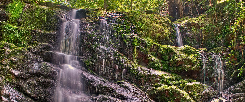 Una bella cascada