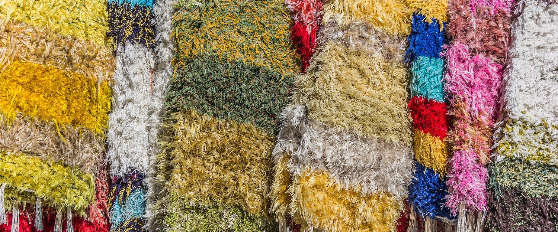 Los telares tradicionales producen estas mantas