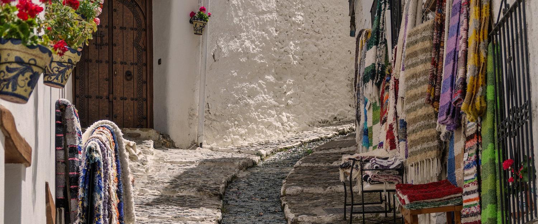 Las calles típicas de las alpujarras