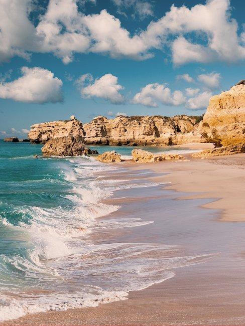 Strand von Albufeira