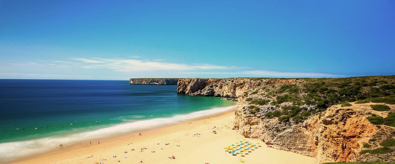 Praia do Beliche an der Algarve