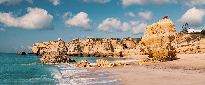 Praia em Albufeira
