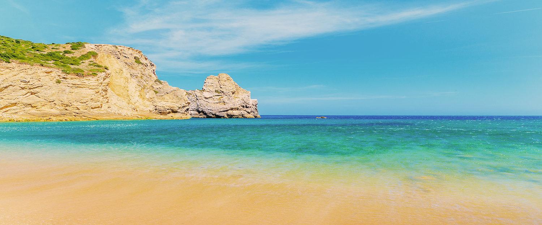 Küste von Albufeira