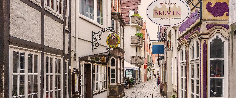 Das schöne Schnoorviertel in Bremen