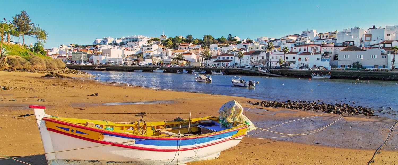 Vista da Praia em Portimão