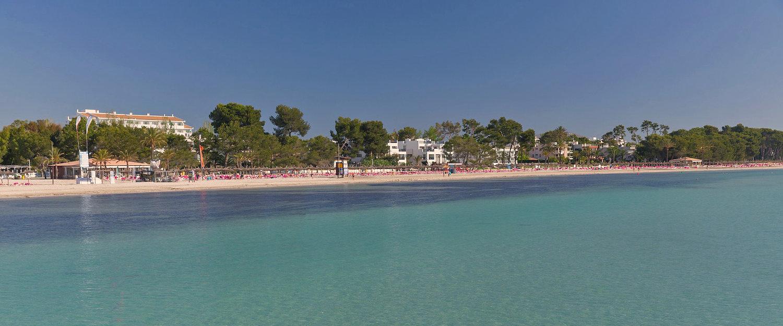 Kristallklares Wasser im Norden Mallorcas.